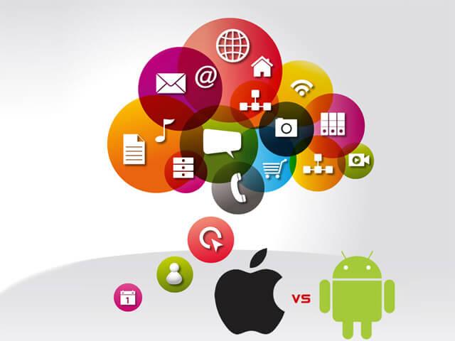 iPhone app versus Android app