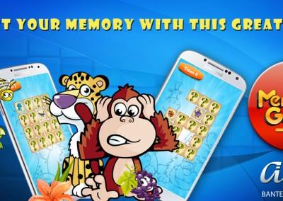 Memory Game Mobile Banner