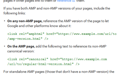 Accelerated Mobile Pages (AMP) Project – How does it impact your Mobile SEO