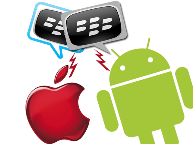 Can Blackberry compete with Android and i-Phone?