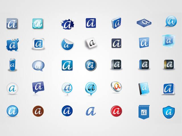 Graphic icon design