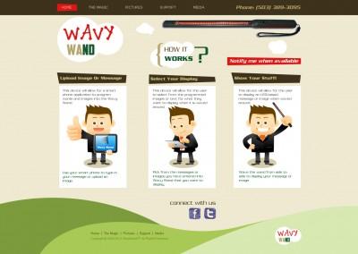 Wavy Wand