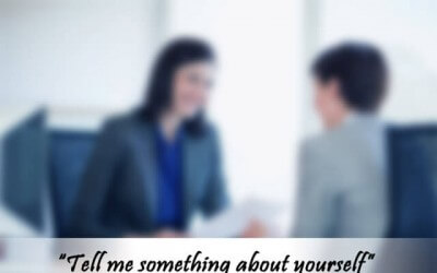 "Mastering the most obvious interview question – ""tell me about yourself"""