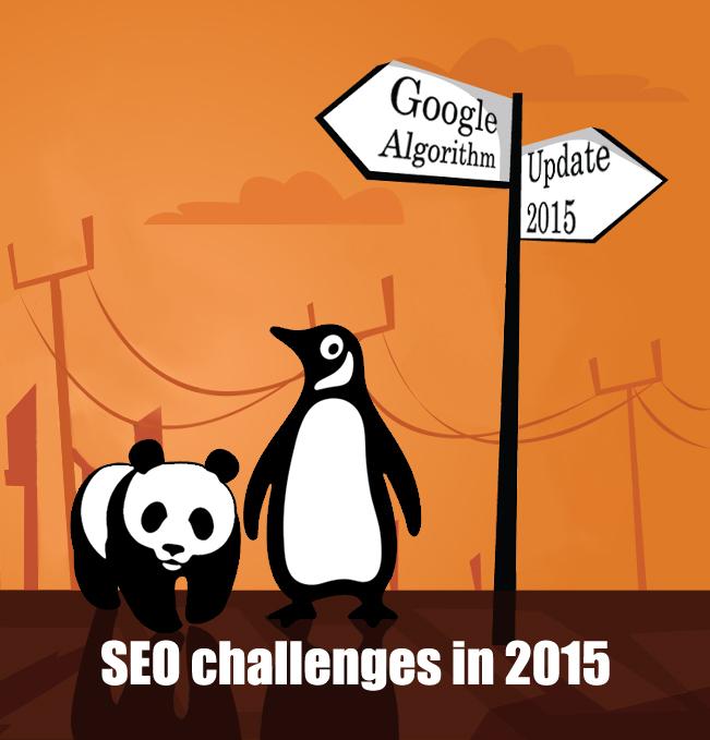 Digital Marketing Challenges 2015 after Google update in April