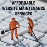 Low cost website support and maintenance service